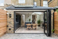 Bespoke London based property developers producing high end residential projects House Extension Design, Extension Designs, Bathroom Design Small, Kitchen Design, Victorian Terrace Interior, House Extensions, Kitchen Extensions, House Property, French Windows