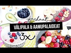 Helpot ja terveelliset välipalat | Demi.fi