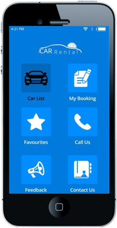 Car Rental Mobile App Solution