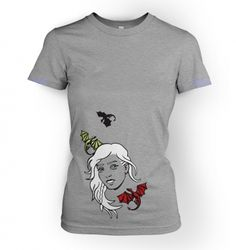 f2c7e934 Women's Daenerys with dragons t-shirt - Inspired by Game of Thrones