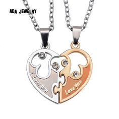 Couple Lovers Necklaces Women And Men Necklace Jewelry