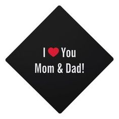 Love My Parents Quotes, Love Your Parents, Mom And Dad Quotes, I Love You Mom, Love My Family, Mothers Love, Dear Mom And Dad, Graduation Cap Toppers, Beats Wallpaper