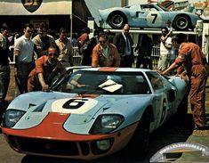 24h lemans 1969 ford gt40 gulf