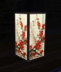 square chinese lantern