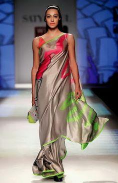 Satya Paul Autumn / Winter'13 by Masaba Gupta | Masaba Gupta Winter Dresses