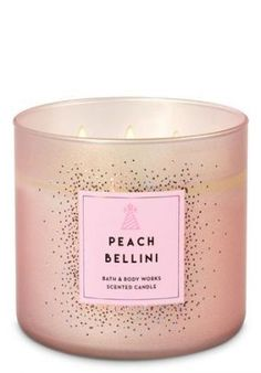 Fragrance - Peach Bellini Candle – Bath And Body Works -Home Fragrance - Peach Bellini Candle – Bath And Body Works - White Barn Lavender Vanilla Candle - Bath And Body Works Pumpkin Cupcake Candle by Bath & Body Works The White Barn Shop Funny Candles, Cute Candles, 3 Wick Candles, Scented Candles, Ideas Candles, Large Candles, Bath Body Works, Bath N Body, Image Bougie
