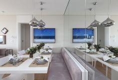 espelho sala de jantar, dinner room mirror, espelho, fernanda marques, sala de jantar, casa casada