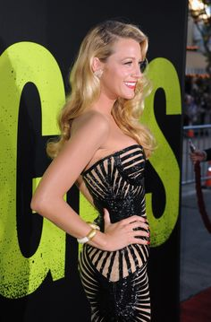 Blake Lively Savages Premiere Dress#