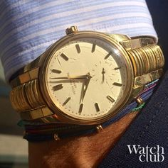 Launched in 1953, this ref. 2526 was Patek's first self-winding wristwatch. Featuring a beautiful yet fragile ivory colour enamel dial, this model also caught the attention of the great Andy Warhol, who bought one for himself. Our model features it's original rare (detachable) bracelet. Bought 20 years ago, it's the Calatrava responsible for getting me hooked on PP's