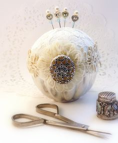 images about ~Pin Cushions And Pin Keeps~ Pin