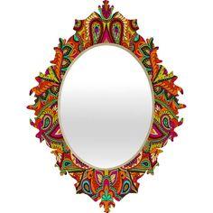 Aimee St Hill Paisley Orange Baroque Mirror #bohemian
