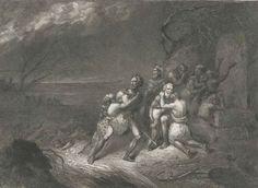 113 BC: Cimbrian flood Salt Marsh, Coast, Culture, Painting, Painting Art, Paintings, Painted Canvas, Drawings