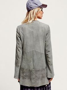 Free People Chilli Painted Suede Jacket at Free People Clothing Boutique