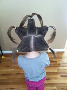 You can never have too many bunches! Crazy Hair Day Girls, Crazy Hair Day At School, Crazy Hair Days, School Days, Dance Hairstyles, Little Girl Hairstyles, Cool Hairstyles, Different Hairstyles, Hairstyles For School