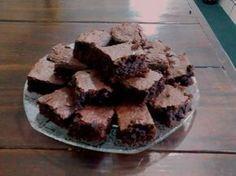 Foto da receita: Brownie de chocolate simples