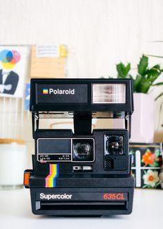 supercolor 635cl polaroid camera