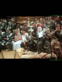 Bugsy Malone -One of my favorite movies as a child and as an adult