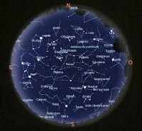 ASTRONOMIA: El cielo al amanecer-El cielo al anochecer