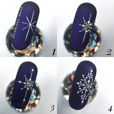 Likes, 17 Comments – МАСТЕР КЛАССЫ (video/photo MK) ( Nail Art Noel, Xmas Nail Art, Christmas Nail Art Designs, Xmas Nails, New Year's Nails, Winter Nail Art, Halloween Nail Art, Holiday Nails, Cool Nail Art