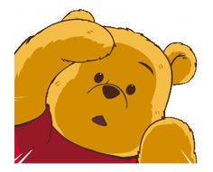 LINE Official Stickers - Winnie the Pooh × Vithita Animation Example with GIF Animation Winnie The Pooh Cartoon, Cute Winnie The Pooh, Winnie The Pooh Quotes, Cute Disney, Disney Art, House At Pooh Corner, Bear Gif, Bear Pictures, Cute Cartoon Wallpapers