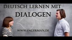 Deutsch lernen mit Dialogen | Learn German with Dialogues #1