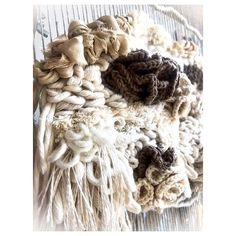 14 Likes, 1 Comments - Karolina Woven Wall Hanging, Tapestry Weaving, Good Day, Textile Art, Dyi, Loom, Textiles, Artist, House