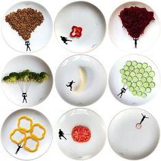 Brincar com comida faz bem « Eludicar