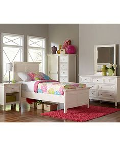Sanibel Kid's Bedroom Furniture Sets & Pieces