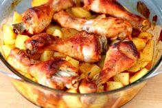 Obiad w wersji jednogarnkowej - Podudzia z kurczaka w miodzie i ketchupie! https://cosdobrego.pl/przepis-na-podudzia-z-kurczaka-w-miodzie-i-ketchupie/