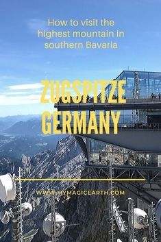 Zugspitze day trip has made my journey to Bavaria Germany very memorable. 2962 metres above sea level Zugspitze is Germanys highest elevation in the Alps. I was able to see four countries in one day! European Travel Tips, Europe Travel Guide, Travel Guides, Travel Abroad, Spain Travel, Budget Travel, Frankfurt, Munich, Cool Places To Visit