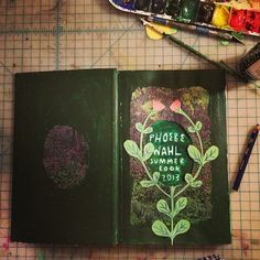 Phoebe Wahl Summer Sketchbook