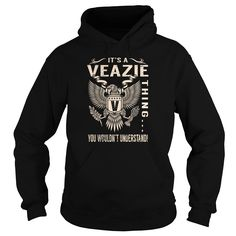 Its a VEAZIE Thing You Wouldnt Understand - Last Name, Surname T-Shirt (Eagle)