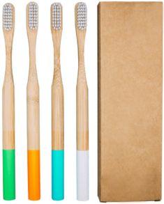 Hver æske indeholder 4 miljøvenlige tandbørster 2 Mint og 2 Hvide Længde af tandbørster: Børn 14,5 cm, Voksne 18,5 cm Nedbrydeligt håndtag i økologisk MAO-Bambus – naturligt antibakterielt Klimaneutral forsendelse Emballagen er lavet af genanvendt pap 30 dages fortrydelsesret Medlemskabet er uden binding og kan standses eller ændres, når du ønsker det. Ny pakke hvert …