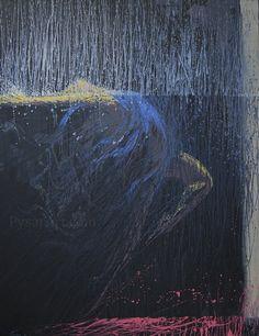Ballet abstracto - bailarina huella - arte lienzo - arte figurativo - lienzo huella - bailarina - decoración de la pared