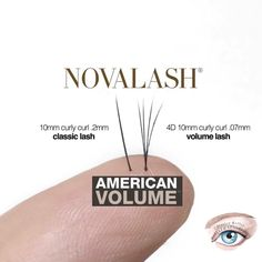 547611bb2a3 If you're looking for a fuller look for your eyelashes, try NovaLash  American