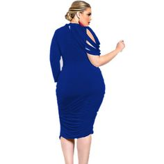 1PC Plus size Dress Women Stripes One Shoulder Sexy Dress Office Party Dresses  Vestidos Mujer 2017 Spring Summer Dress Z520-in Dresses from Women s  Clothing ... 38670bf20d97