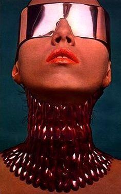 Christian DiorCosmetics 1970, retro-futuristic fashion, #zienrs #sunglasses