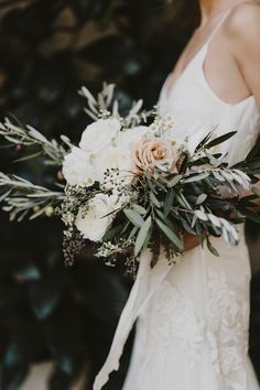 modern bridal bouquet inspiration