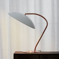 atomic copper table lamp | CB2