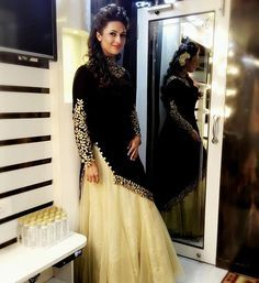 """#InstaLove Dress designer @madhukardesigner21 "" From TV Actor Divyanka Tripathi's Instagram"