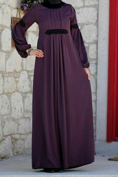 Muslim Women Fashion, Modern Hijab Fashion, Abaya Fashion, Fashion Dresses, Hijab Evening Dress, Hijab Dress Party, Hijab Style Dress, Mode Abaya, Mode Hijab