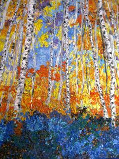 Quilted Wall Hanging Art Quilt Birch Trees & Forest Flowers Original Landscape Wallhanging Fiber Art by Sally Manke Office Decor Forest Forest Flowers, Tree Forest, Forest Art, Quilting Thread, Tree Quilt, Thread Painting, Traditional Quilts, Unique Wall Decor, Quilted Wall Hangings