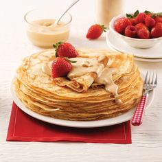 Bagels au miel et raisins secs - 5 ingredients 15 minutes Desserts Français, French Desserts, Crepes Minces, Dessert Crepes, Brunch Bar, Raisin, Mousse, Waffles, Pancakes