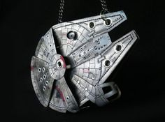This DIY Millennium Falcon Purse makes a unique DIY Christmas gift idea for any Star Wars fan.