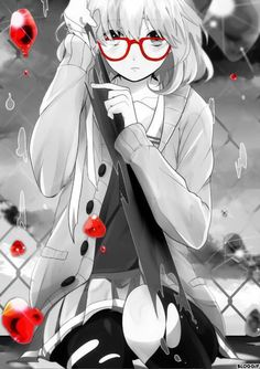「不愉快です」illustration by.タカノブ(pixiv.net)「境界の彼方」栗山未来