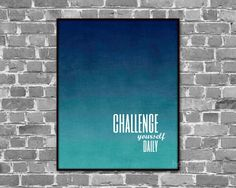 Popular items for teal blue ombre on Etsy