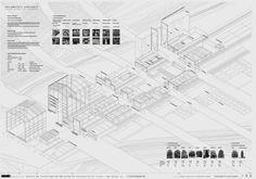 Pfc etsam isometrica arquitectura sección