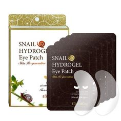 ElishaCoy Noblesse Naturalism Snail Hydrogel Eye Patch 5 Sheets by ElishaCoy. $9.50. Contaning 70% all natural snail slime. Included 5 Sheets. ElishaCoy Noblesse Naturalism Snail Hydrogel Eye Patch 5 SheetsContaning 70% all natural snail slime Containing purified snail slime, the gel gives your skin a cool feeling, rich with moisture and nourishment for your skin, while tightening your skin to give the long lasting moisture your desire. [How to use] Remove clear film from...