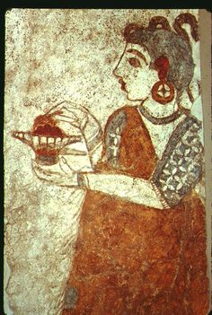 ancient art from crete.