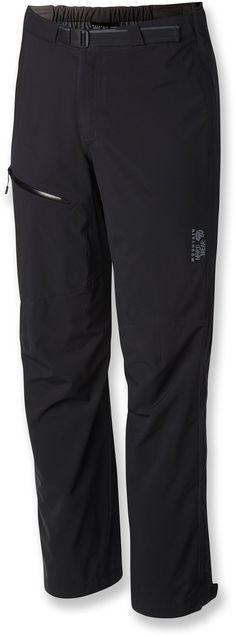"Mountain Hardwear Male Stretch Ozonic Rain Pants - Men's 30"" Inseam"